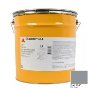 Membrana lichida Sikalastic 614 RAL 7045 gri 21,75 kg
