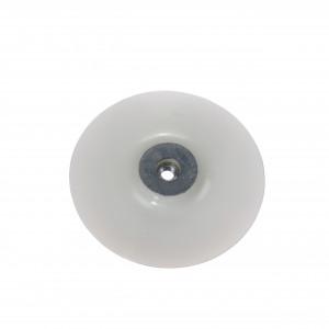 Placă suport flexibilă 180 mm, dotată cu piuliță cu flanșă M14 pentru toate polizoarele unghiulare, diametru interior disc 22.2