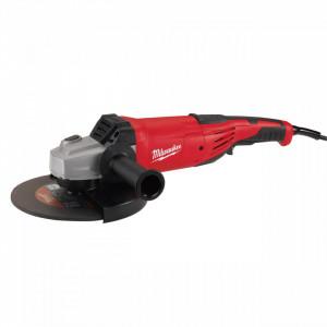 Polizor unghiular 220 V Milwaukee AG 22-180 DMS, disc 180 mm, 2200 W, alimentare Retea 220-240 V