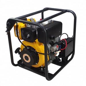 """ProGARDEN PD30E motopompa 3""""/75mm, diesel, apa curata, pornire electrica"""