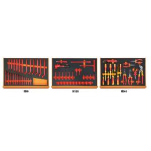 Set 67 scule asortate, 1000V, in suport burete 5988VHB-MQ