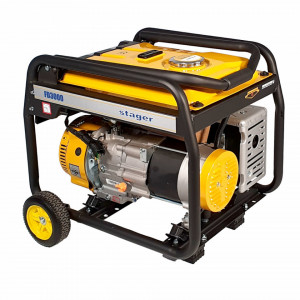 Stager FD 3000 generator open-frame 2.5kW, monofazat, benzina, pornire manuala