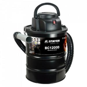 Stayer - BC 1200 D - Aspirator pentru cenusa, 1200 W, 190 mbar, 20 l