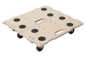 Transportor pe role Wolfcraft FT 400 pentru mobila tip Puzzle Boards, sarcina maxima 400 kg
