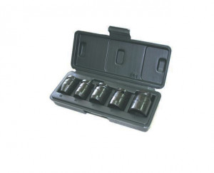 """Trusa capete tubulare de impact lungi 1/2"""" 10-19 mm/10 piese 10-19 mm/10 piese"""
