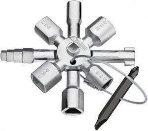 Cheie pentru tabloul electric KNIPEX TwinKey®