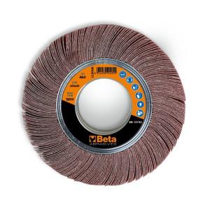 Disc lamelar cu panza din corindon pentru slefuire, Ø200x30 mm 11300C