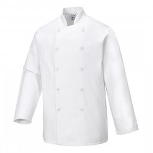 Jacheta Sussex Chefs, culoare Alb