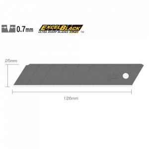 Lame negre 25 mm tip HBB-5B - set 5 bucati