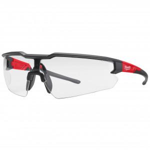Ochelari de protecție cu lentilă transparentă - anti-zgâriere & anti-aburire - 1 buc Enhanced Safety Glasses Clear