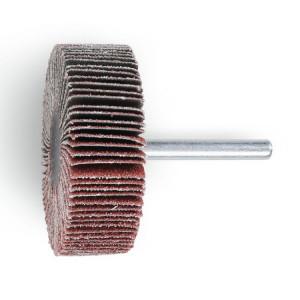 Perie lamelara abraziva din corindon Ø60mm, cu tija Ø6mm 11266