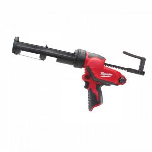 Pistol aplicat silicon Milwaukee M12 PCG/310C-0, tub 310 ml, livrat fara acumulator