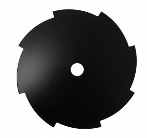 ProGARDEN Cutit motocoasa de umar, 8 dinti, 255mm, 25.4mm