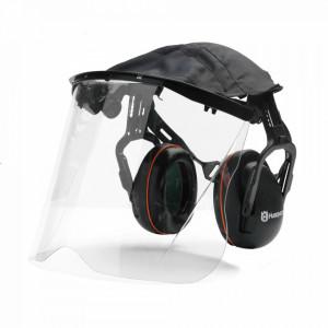 Protecție auditivă cu vizieră Perspex
