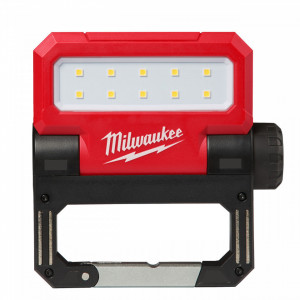 Reflector pliabil reincarcabil USB Milwaukee L4 FFL-201, IP 54, 550 lumeni, livrat cu acumulator