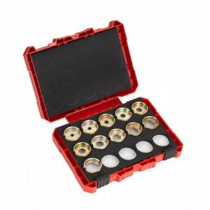 Set bacuri de sertizare Milwaukee DIN22 Cupru 16-300 mm, pentru cabluri armate, pachet 11 buc