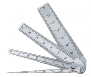Set lere tip pana,DIM 1-29 mm, GRADATII 0.05 MM, ACURATETE ± 0.05 mm, L 133, W 29.6