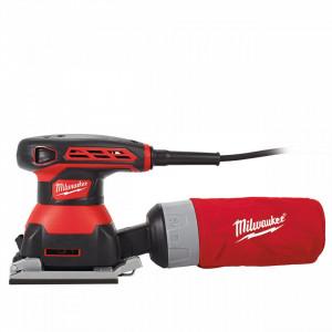 Slefuitor cu vibratii 220 V Milwaukee SPS 140, talpa 113x105 mm, 260 W, alimentare Retea 220-240 V