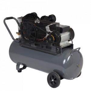 Stager HMV0.25/100 compresor aer, 100L, 8bar, 250L/min, monofazat, angrenare curea