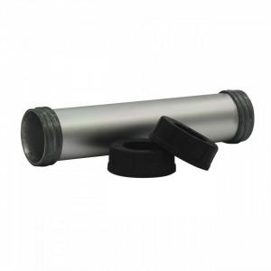 Suport tub din aluminiu, 400 ml. Necesită tijă piston (48091090) și piston (44700375). Milwaukee