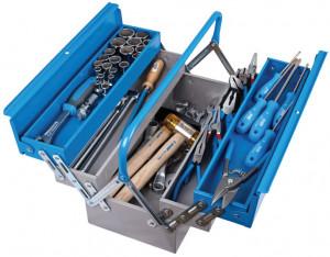 Trusa profesionala de scule pentru mecanici auto TSA in cutie metalica 911/5 ak1 65 piese