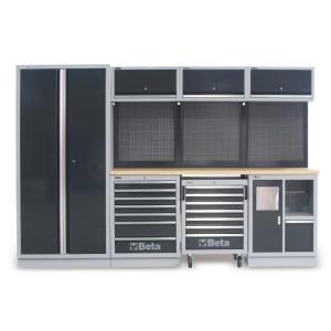 Banc de lucru modular atelier C45/W