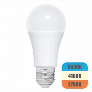 Bec LED cu lumina adaptabila model glob A60 12W=100W 1080Lm