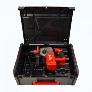 Ciocan SDS Plus Milwaukee FUEL M18CHPX-0X, 4,0 jouli, livrat fara acumulatori, cu valiza
