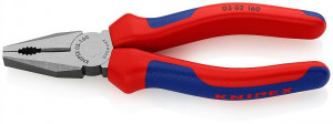 Clește patent KNIPEX, mânere multicomponent