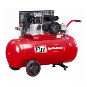 Compresor FINI MK102-100-3M, monofazat, debit 192 litri/min, butelie 100 litri