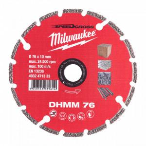 Disc diamantat Milwaukee DHMM 76mm