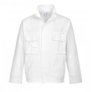 Jacheta pentru Zugravi, culoare Alb