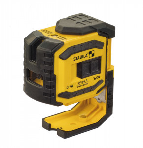 LAX 300G - Nivele laser VERDE cu 2 puncte si laser cruce