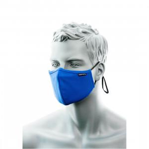 Mască Facială din tesătură antimicrobiană 3 straturi cu bandă pentru nas (25buc)