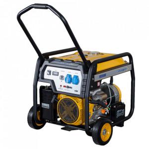 Stager FD 7500E generator open-frame 6kW, monofazat, benzina, pornire electrica