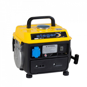 Stager GG 950DC generator open-frame 0.72kW, monofazat, amestec ulei/benzina, pornire la sfoara
