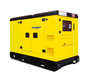 Stager YDY242S3 Generator silent, diesel, 242kVA