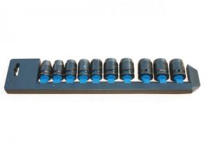 "Trusa capete tubulare de impact scurte 3/8"" 8-19 mm/8 piese 8-19 mm / 8 piese"