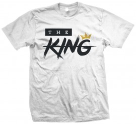 "Tricou - ""The King"" / ""The Queen"""