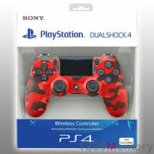 Slika Dualshock 4 V2 Red Camouflage SonyPlastation PS4
