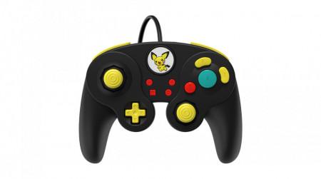 Slika Nintendo Switch Wired Fight Pad Pro Pikachu Black