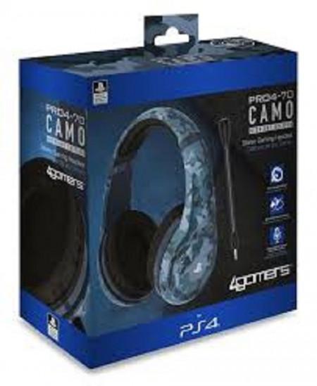Slika PS4 Camo Edition Stereo Gaming Headset - Midnight