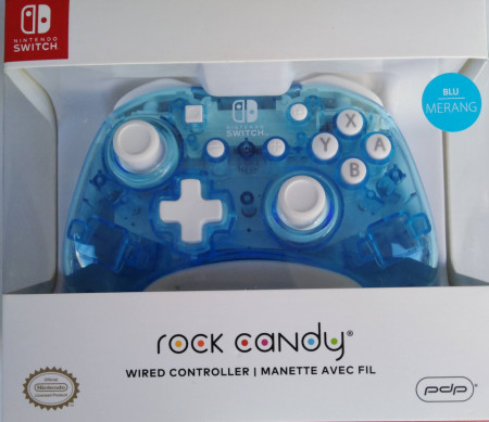 Slika Nintendo Switch Wired Controller Rock Candy Mini Blu-Merang