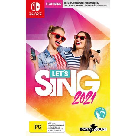 Slika Switch Let's Sing 2021