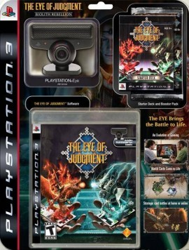 Slika Kamera+igra The Eye of judgment za PS3 SONY Playstation 3