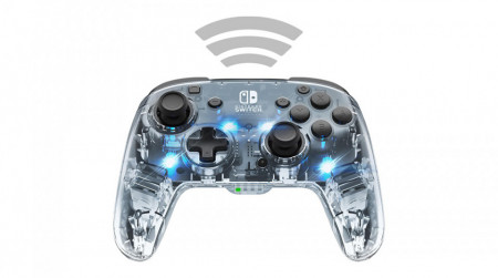 Slika Nintendo Switch Deluxe Wireless Pro Controller Afterglow + Audio