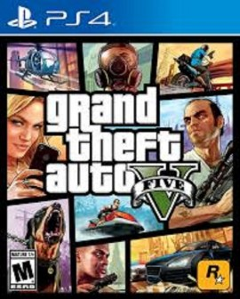 Slika GTA V (Grand Theft Auto 5) Sony PS4