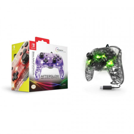 Slika Nintendo Switch Deluxe Wired Pro Controller Afterglow + Audio