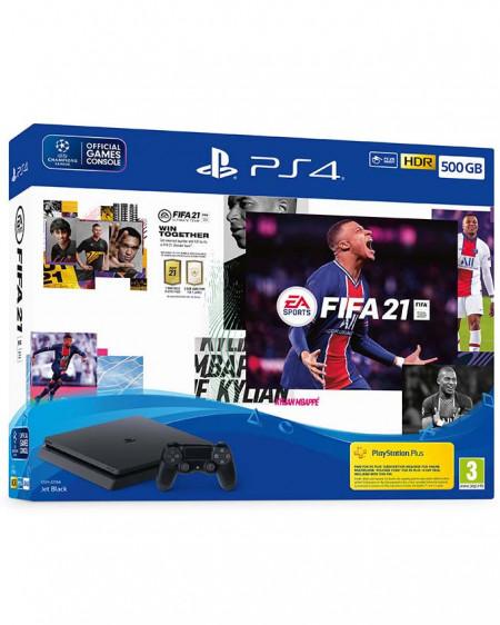 Slika Sony Playstation 4 500GB+ DualShock PS4 + Fifa 21 Akcija