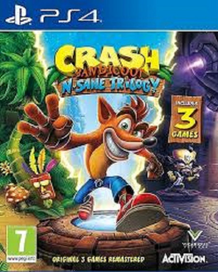 Slika PS4 Crash Bandicot N Sane Trilogy Sony Playstation